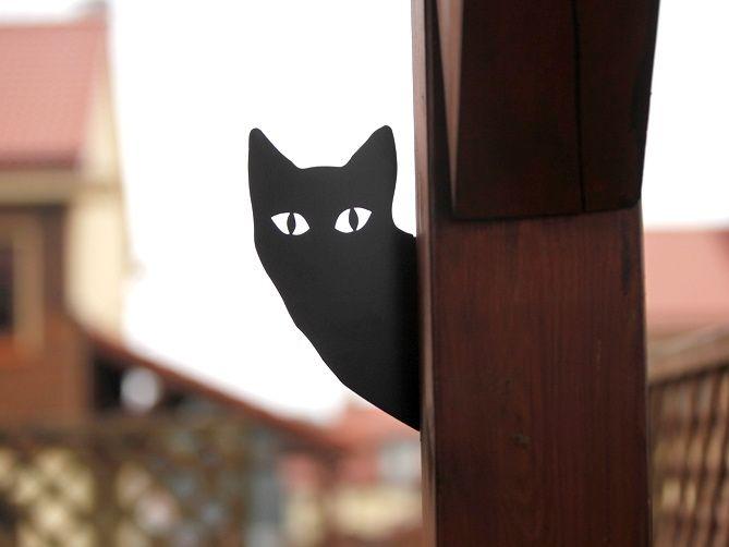 koty , blaszany kot , ozdoby ogrodowe , cats , steel cat