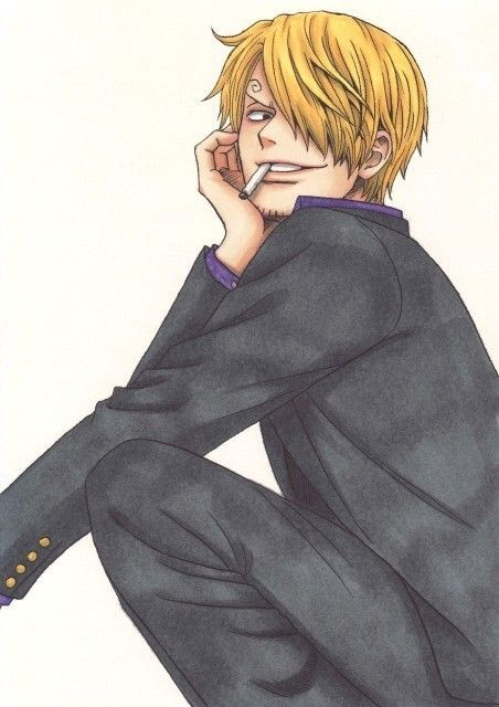 Sanji i dont know why but this pic just makes me want to kiss him
