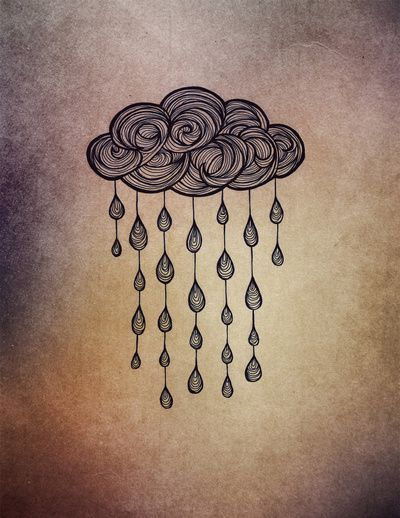 """Rain"" Art Print by Nataryclyrehs on Society6."