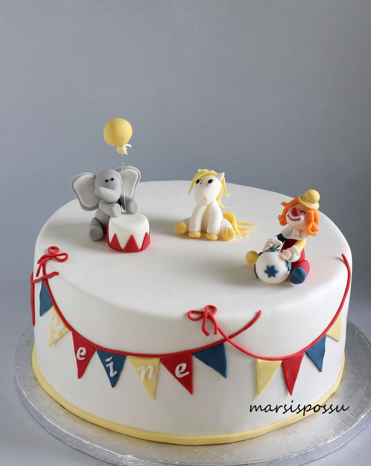 Marsispossu: Sirkuskakku, Circus cake
