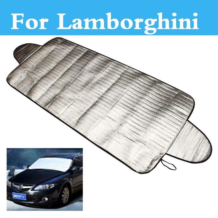 Car Windshield Cover Snow Ice Frost Visor SunFor Lamborghini Murcielago Reventon Sesto Elemento Veneno Aventador Gallardo #Affiliate