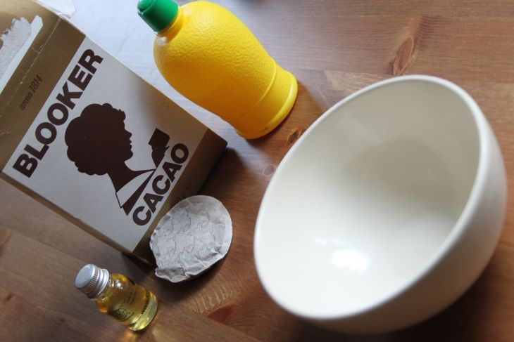 DIY    Koffie-Cacao Gezichtsmasker
