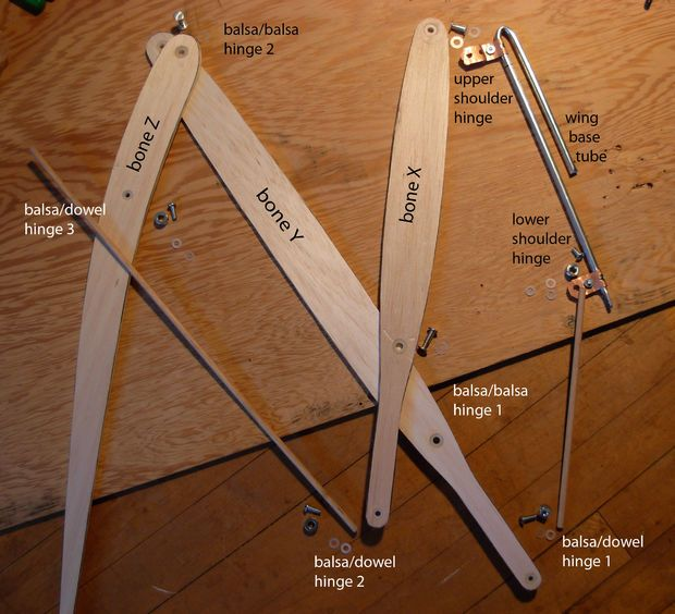Picture of Cut the balsa pieces