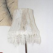 Для дома и интерьера ручной работы. Ярмарка Мастеров - ручная работа Валяный абажур для торшера. Handmade.