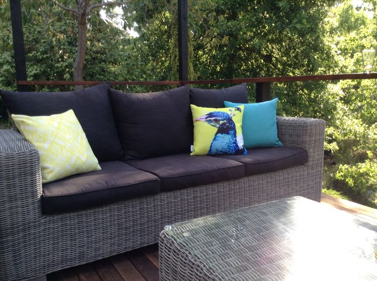 Sunburst Outdoor Living cushions