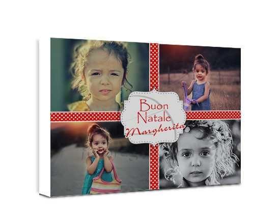 Collage di foto su tela 4 stars