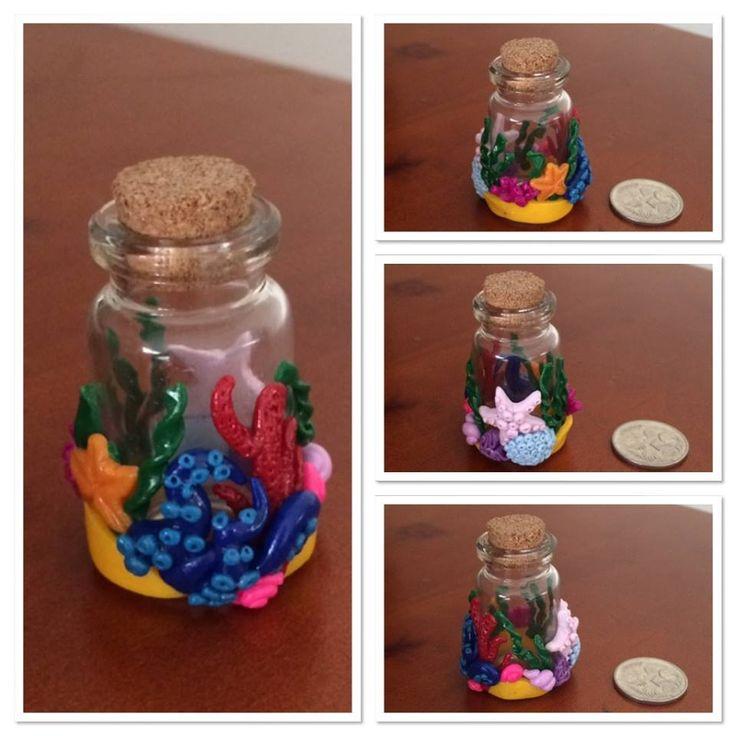 Mini Ocean themed jar