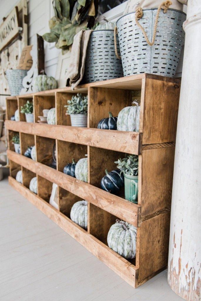 DIY Farmhouse Style Nesting Boxes