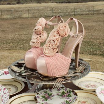 Bridal Bouquet Heels...