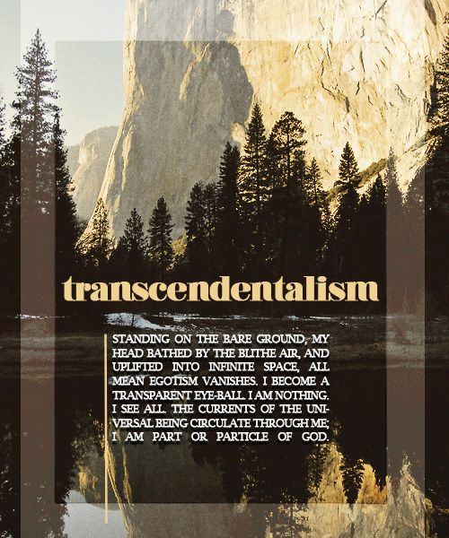emersons nature and transcendentalism Nature, by ralph waldo emerson: introduction (analysis & interpretation) nick courtright nature, by ralph waldo emerson: transcendentalism.