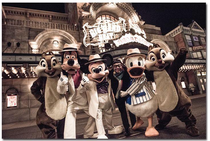 東京ディズニーリゾート,イマジニングザマジック,ミッキー,ドナルド,グーフィー,チップ,デール,平間至