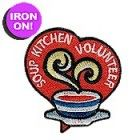 AHG Activity Patches: Soup Kitchen Volunteer Service Patch