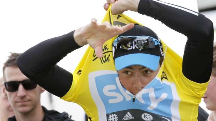 Edvald Boasson Hagen vant sammenlagtseieren på hjemmebane.