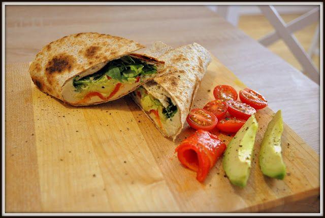 We love our kitchen: Hummusové wrapyAhoj! Tento recept je výborný, ak s...