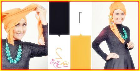 Tutorial Hijab Segi Empat Formal Untuk Penampilan Yang Fashionable   arenawanita.com