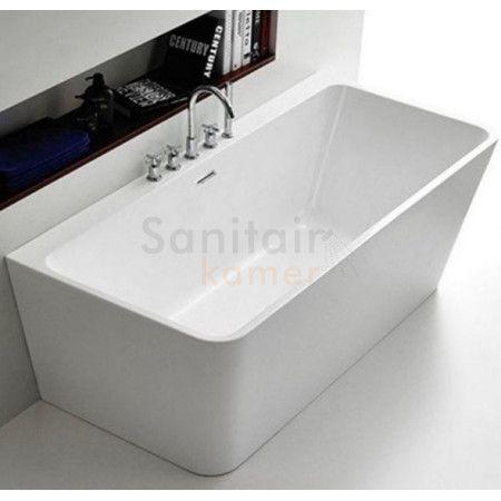 Badstuber Style half vrijstaande badkuip 170x75cm - SK11453 | Sanitairkamer.nl