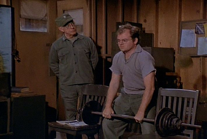 M*A*S*H: Season 6, Episode 9 Images (15 Nov. 1977)  4077, mash, Gary Burghoff , Corporal Walter Eugene O'Reilly, Harry Morgan , Colonel Sherman T. Potter,