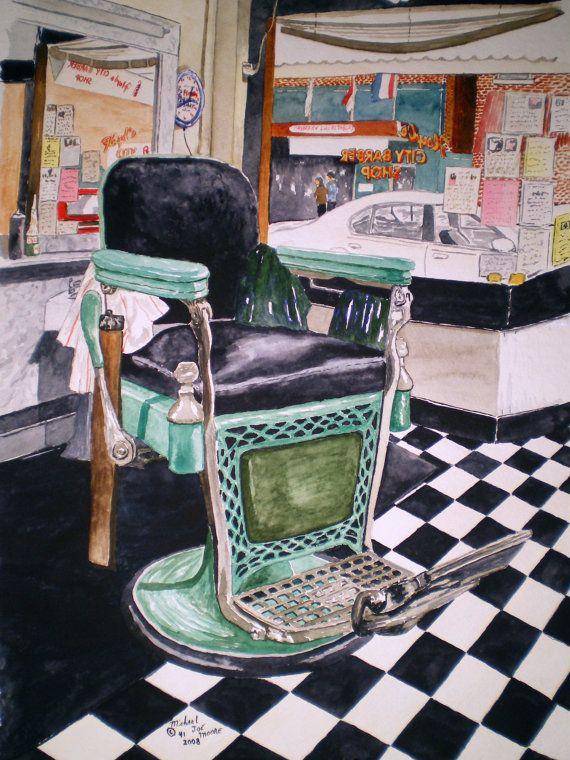 Floyd's barber chair