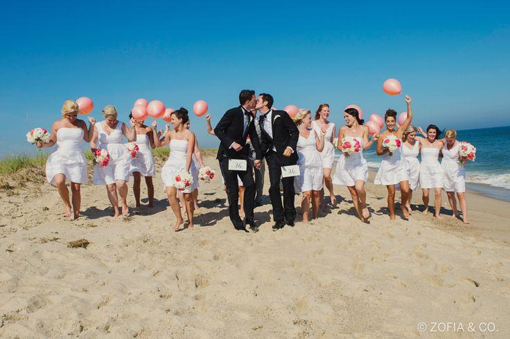 casamento gay na praia Foto: Zofia & Co./Huffington Post