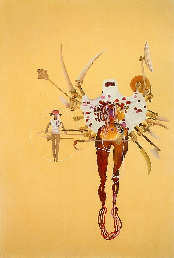Shahzia Sikander, Fleshy Weapons