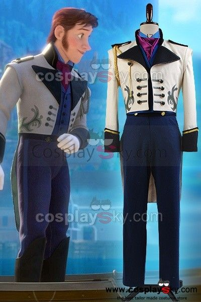 Frozen-Prince-Hans-Tail-Coat-Costume-Suit-Cosplay-8