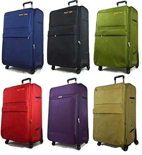 Dimension - Super lightweight 4 wheel suitcase ·Expandable for additional packing space (CABIN SIZE IS NONE-EXPANDABLE) · op and side carry handles (no side handle on small size) ·Lightweight adjustable telescopic trolley system Four wheel spinner case with Dual-Wheels for greater stability and manoeuvrability - Lockable zips on main section and front pocket