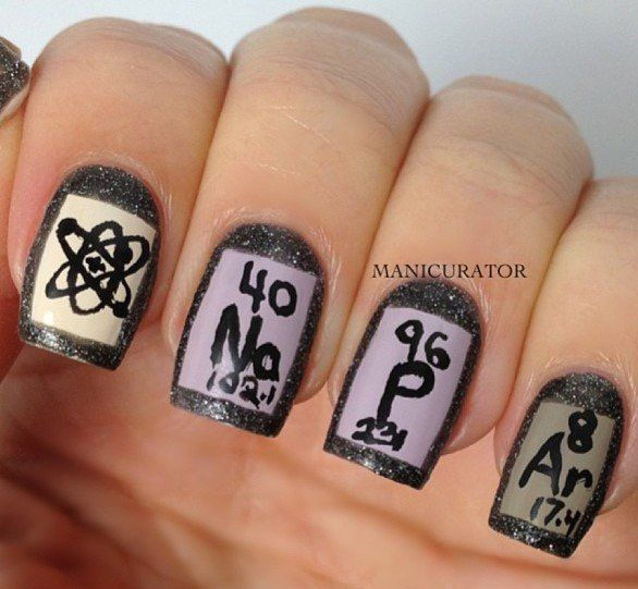 Science Nail Designs: Nails High School/College