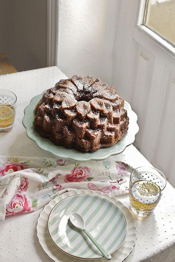 bundt cake de mantequilla y frambuesa   maria lunarillos