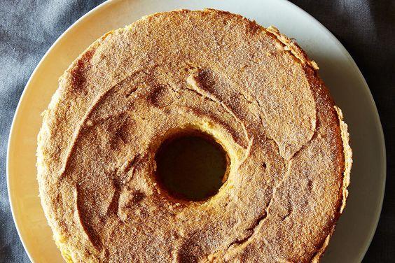 A Lighter Pumpkin Cake on Food52