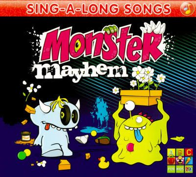 Buy Monster Mayhem (ABC for Kids: Sing-A-Long Songs) (CD) at Angus & Robertson Bookworld with Delivery - Boo!!! Monster Mayhem is a collection of creepy, crawly, wacky and spooky songs. It is Monstrously fun! Composed By Juice Music  01.Munsters Theme Song 02.Monster Mash 03.Monsters Go RRR 04.Horns and Fangs 05.Monster in the Closet 06.Five Little Monsters Under the Bed 07.Purple People Eater 08.Monster Hunt 09.Dem Bones 10.Not All Monsters are Bad 11.Greasy Grimy Gopher Guts…