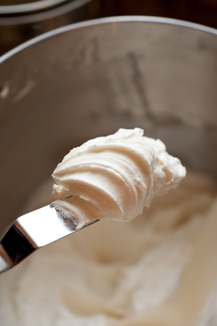 The Ultimate Fluffy Buttercream Frosting. It literally melts in your mouth!