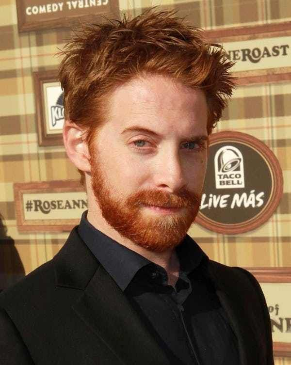 Red haired actors