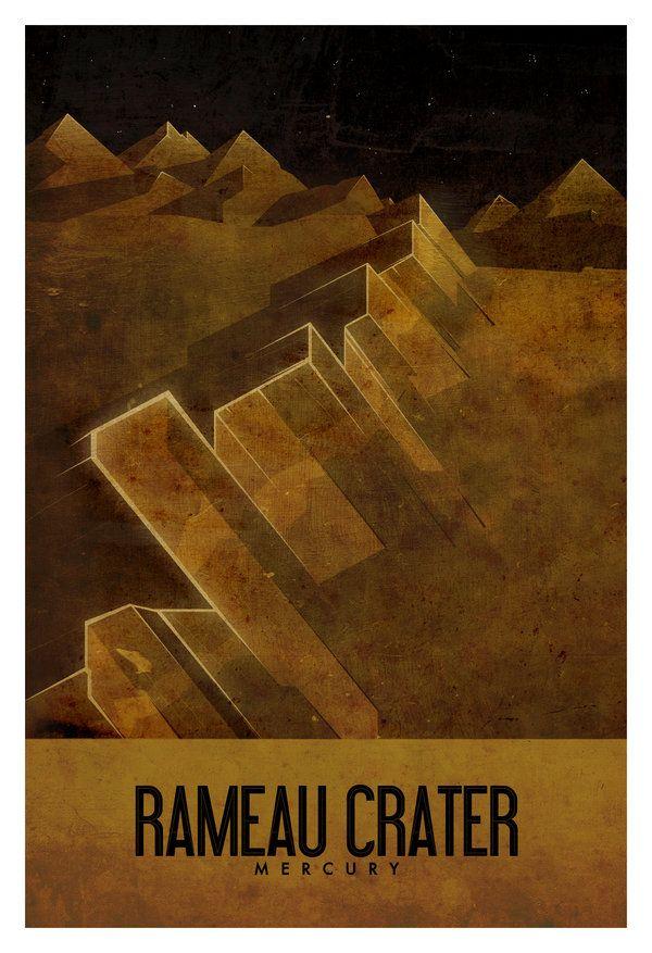 Ron Guyatt   Mercury- Travel Poster Set / Prints byRon...
