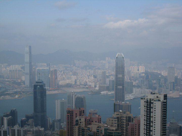 Cloudy Hong Kong