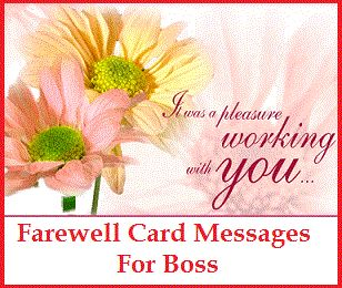 Sample Messages and Wishes! : What to write in a Farewell ...