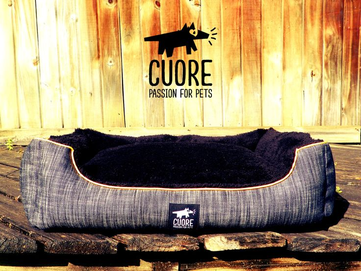 Denim Lounge! Full comfort and style #cuore #passionforpets #dogbeds #fashion #doglovers #follow #picoftheday