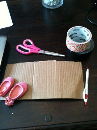 How to make American girl shoes
