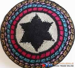 Crochet Yarmulke Patterns : CROCHETED YARMULKE PATTERN FREE PATTERNS