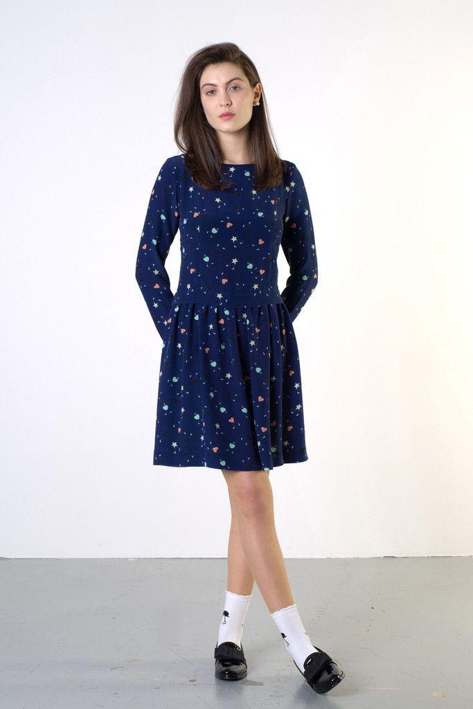 TWENTY-SEVEN NAMES Up in the Woods Dress New Zealand Designer - NZ Designer Shop now www.livsnz.com