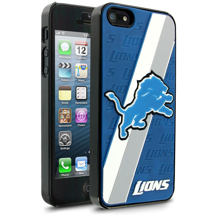 NFL Detroit Lions Hard Case With Logo for Apple iPhone 5