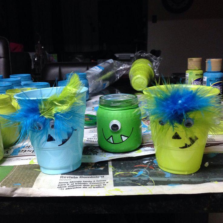 vasos de gerber con sorpresas y vasos para nios
