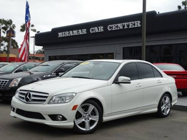 2010 Mercedes-Benz C-Class White GO FOR A TEST DRIVE! (San Diego) $13998: < image 1 of 24 > 2010 Mercedes-Benz C-Class C300 Sport Sedan 4D…