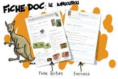 Fiche documentaire : le kangourou | Bout de Gomme