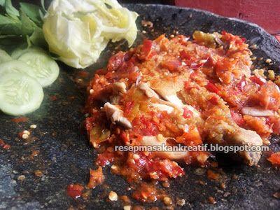 Resep Ayam Geprek | Resep Masakan Indonesia (Indonesian Food Recipe)