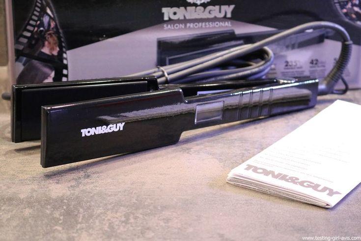 Le lisseur cheveux Toni & Guy Professional 235 Salon Straightener avec des plaques XL : Top ou Flop ?