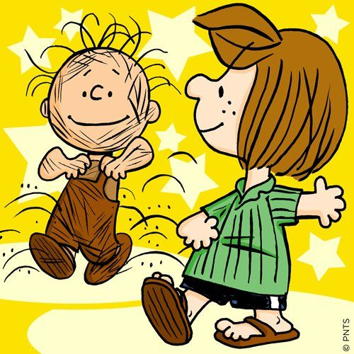 Peppermint Patty And Pigpen