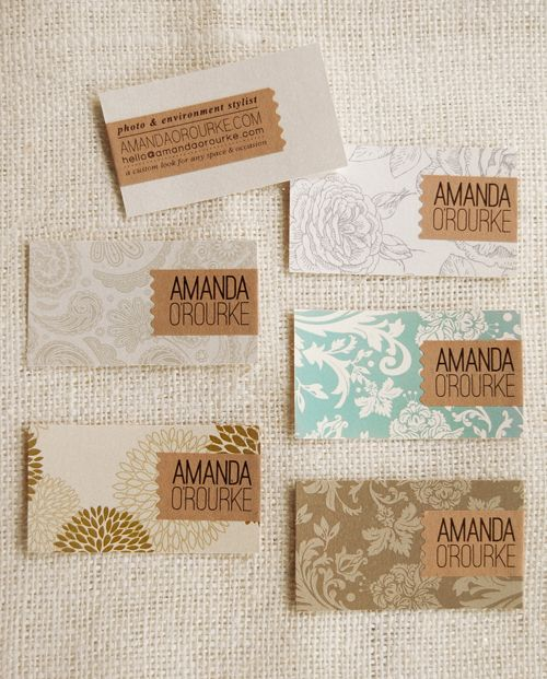 joy ever after :: details that make life loveable :: - Journal - new business cards {withpizazz}