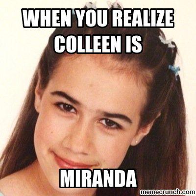 ce8f9324e74870371729352d9a8d66fb image miranda sings memes 106 best miranda sings images on pinterest colleen miranda