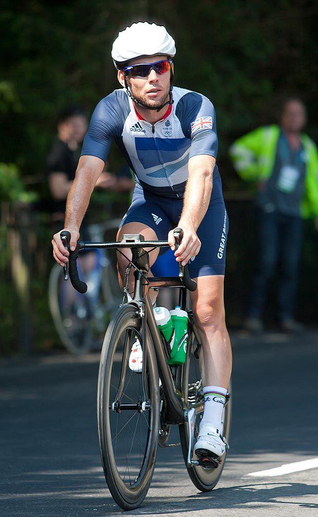 Mark Cavendish /via News Group Newspapers Ltd #roadie #olympics