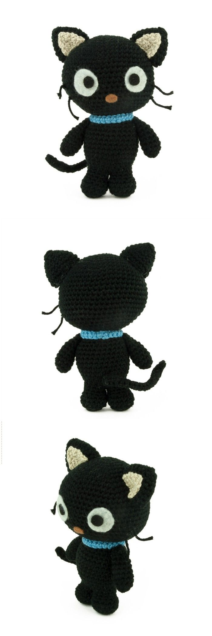 you are good at crocheting then here is a big list of free crochet cat patterns for you!Crochet pattern Chococat